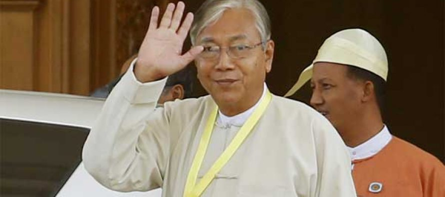 Myanmar President to visit India this month
