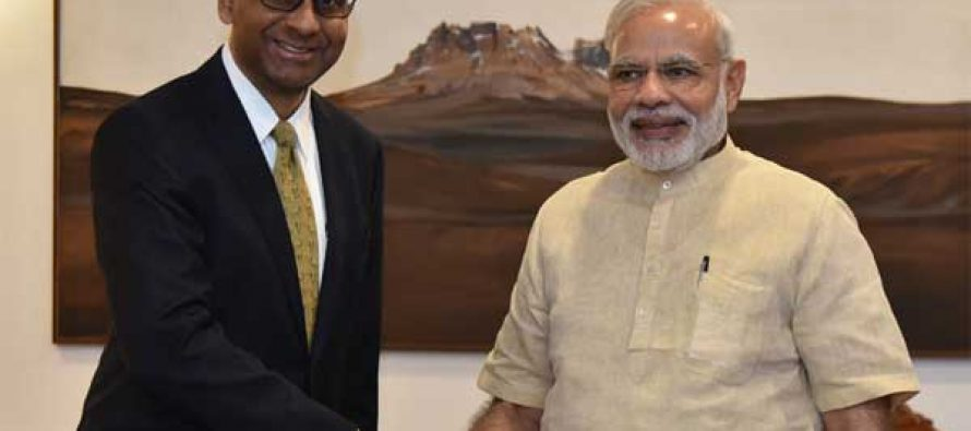 Singapore's Deputy PM calls on Modi
