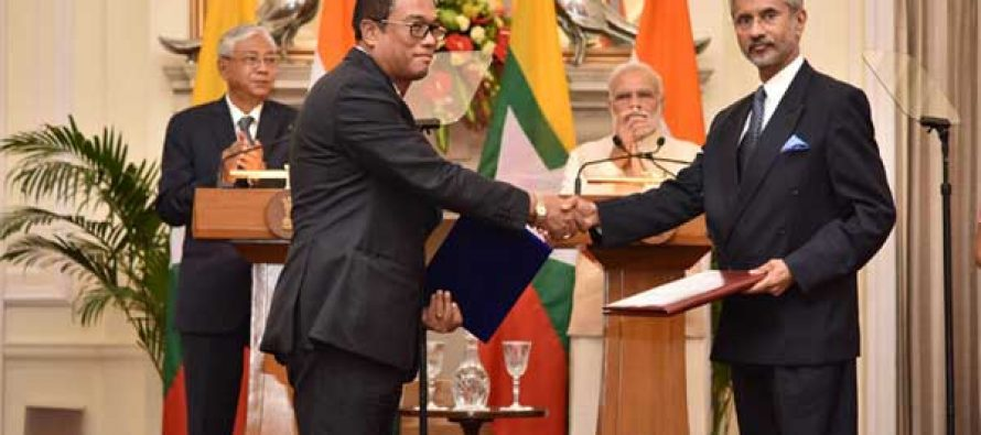India, Myanmar agree to increase bilateral cooperation