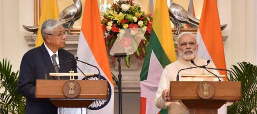 India to stand by Myanmar on its development path: Modi
