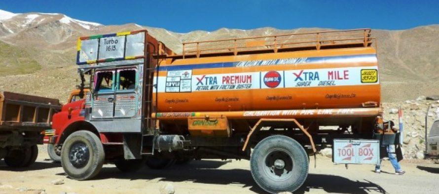 Oil tanker owners suspend supplies to Kashmir, Ladakh