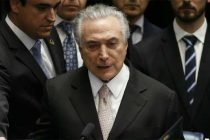 Michel Temer sworn in as new Brazil president