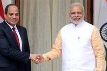 Modi meets Egyptian President