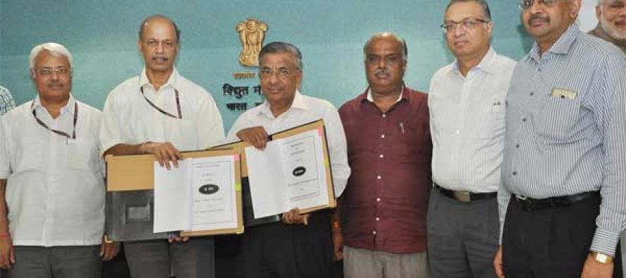 PFC SIGNS MoU with the Ministry of Power for the FY 2016-17