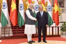 The Prime Minister, Narendra Modi meeting the Prime Minister of Socialist Republic of Vietnam, Nguyen Xuan Phuc