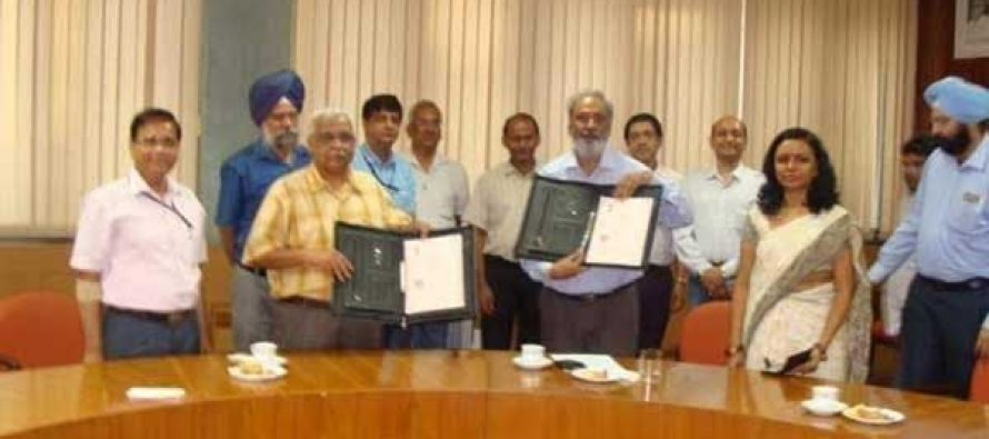 R &D MoU between NTPC and IIT Madras