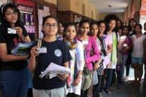 Polling begins in DU, JNU