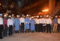 Sceretary Steel Dr Aruna Sharama with Jt Secretary Steeel Sunil Barthwal ,Chairman SAIL Shri PK Singh