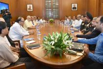 Modi chairs CCS meeting on LoC situation