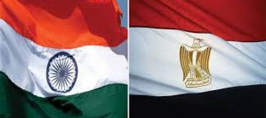 India, Egypt set $8-bn trade target