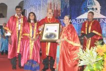 S.K.Acharya, CMD, NLC conferred with Honorary Doctorate