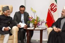Hamid Ansari meets Iranian President