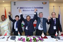 4th BRICS Science & Technology Ministers Meeting, in Jaipur on October 08, 2016.