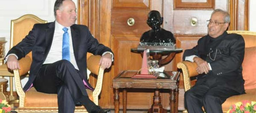 Prime Minister of New Zealand Calls on President