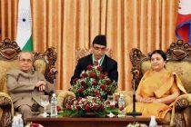 President Mukherjee holds talks with Nepalese counterpart