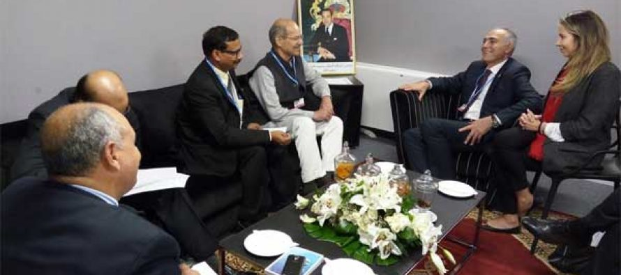 India, COP 22 Presidency Discuss Enhanced Co-Operation