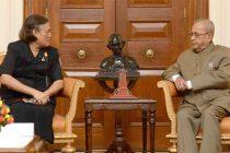 Princess Maha Chakri Sirindhorn of Thailand, meeting the President