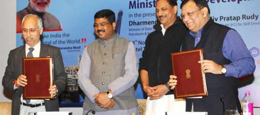 Petroleum, Skill Development ministries ink MoU
