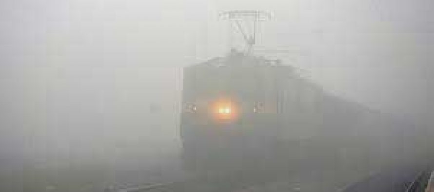52 trains delayed, one cancelled due to fog