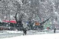 Minimum temperatures below freezing point in kashmir Valley