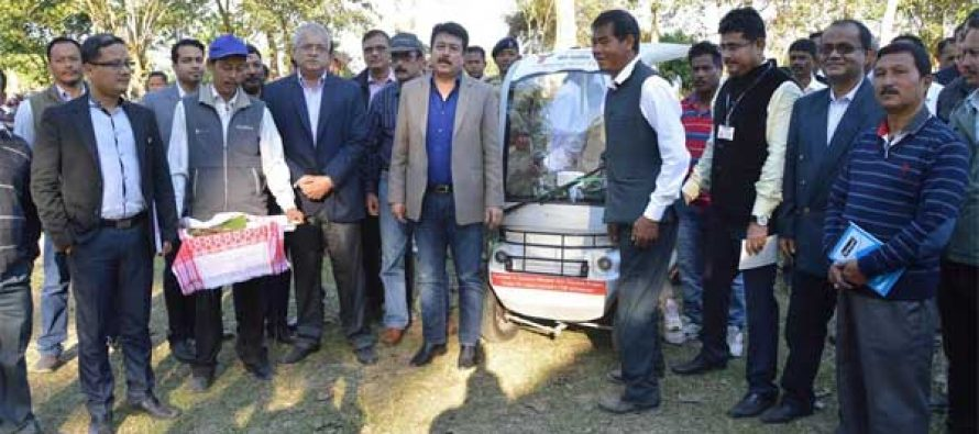 OIL provides 40 KW Solar Power Plant at Sasoni Merbeel Eco Tourism Project in Assam