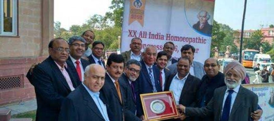 HMAI Delhi State Awarded for Best Academic CMEs – Received by Dr A.K. Gupta, President & team
