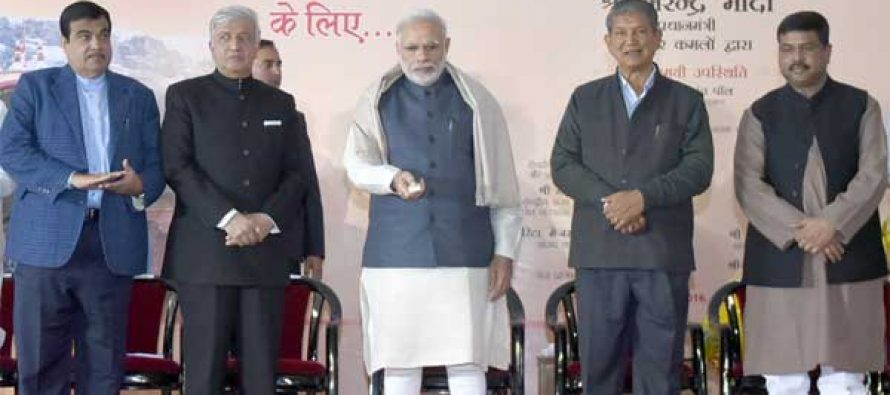 Modi to lay foundation stone of Char Dham highway