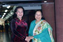 Vietnam parliamentary delegation calls on Lok Sabha Speaker Sumitra Mahajan