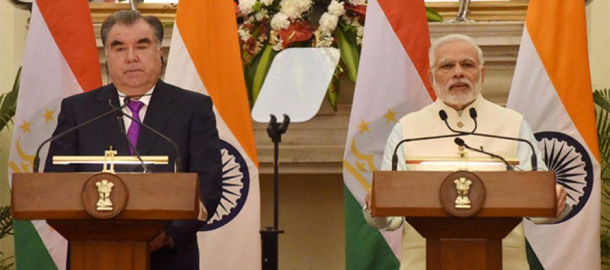 India, Tajikistan discuss anti-terror fight, trade links
