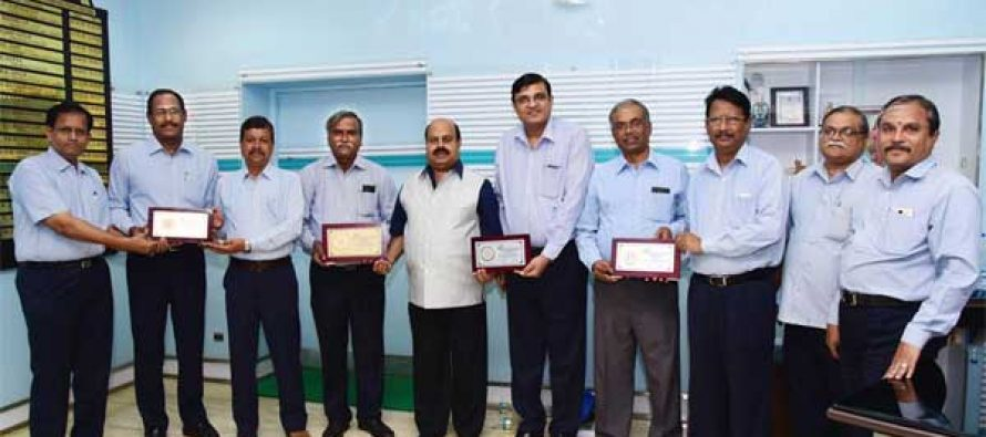 PRSI NATIONAL AWARDS FOR NLCIL