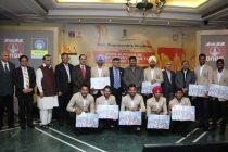 Dharmendra Pradhan felicitates Junior Hockey World Champions