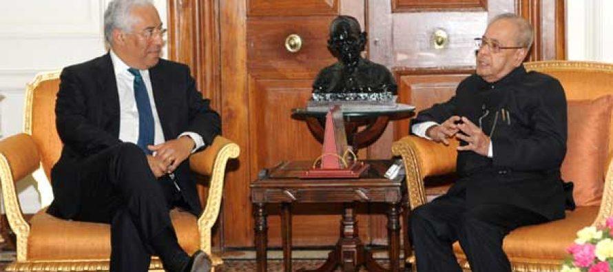 Prime Minister of Portugal Calls on President