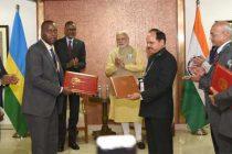 India, Rwanda become strategic partners
