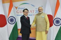 Japanese Industry Minister meets Modi