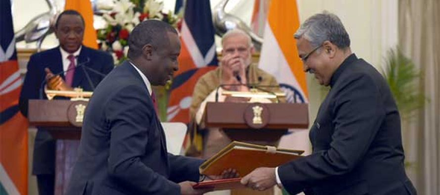 India, Kenya to consolidate security and defence cooperation