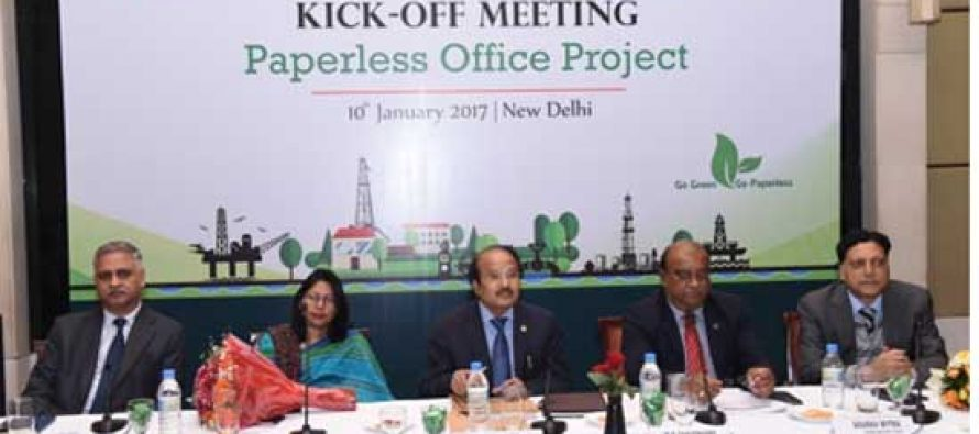 ONGC takes giant leap towards becoming paperless