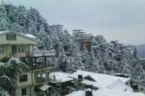 Widespread snowfall in Kashmir Valley