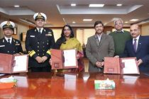 NBCC Signs MoU with Indian Navy