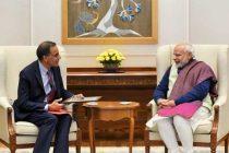 Ambassador Verma's Farewell Meeting with Prime Minister Modi