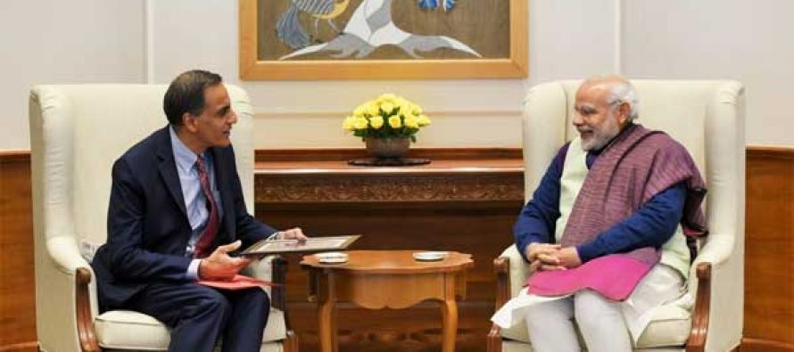 Ambassador Verma's Farewell Meeting with Prime Minister Modi