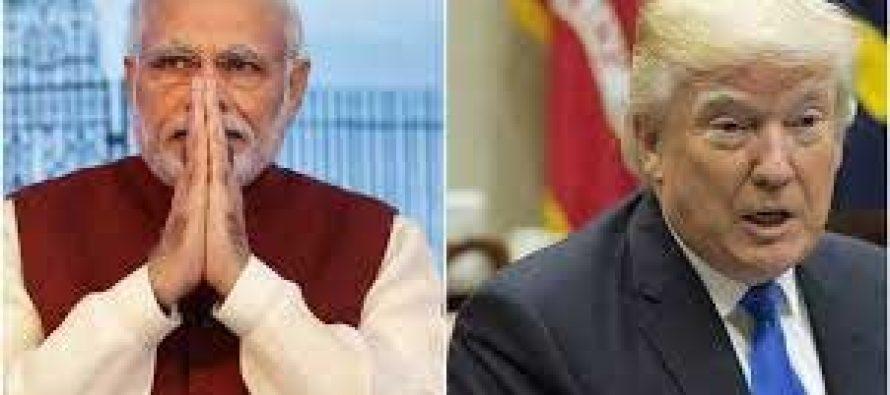 Modi invites Trump to visit India