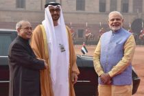 Abu Dhabi Crown Prince gets ceremonial welcome