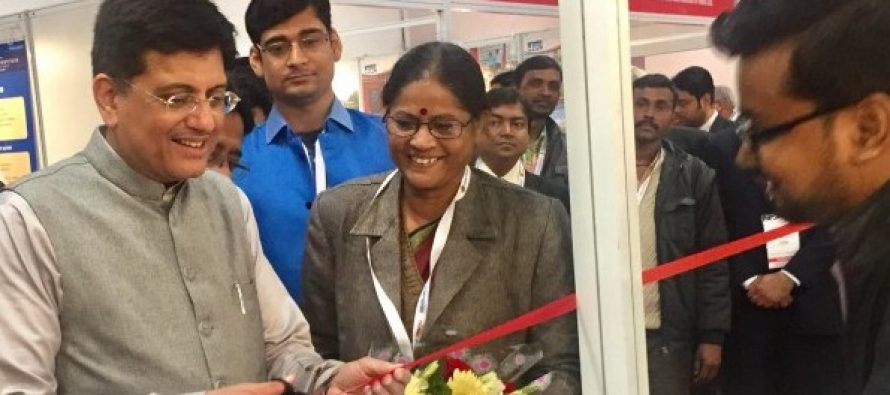 Power Minister Inaugurates REC Stall at Intelect 2017