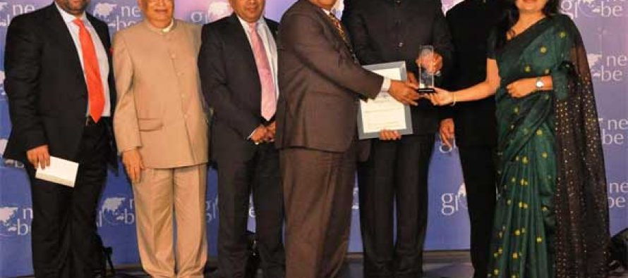 """URJA App wins the """"One Globe Award for Excellence in Enabling a Mobile Economy"""""""