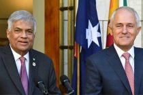 Australia, Sri Lanka discuss border protection, economy