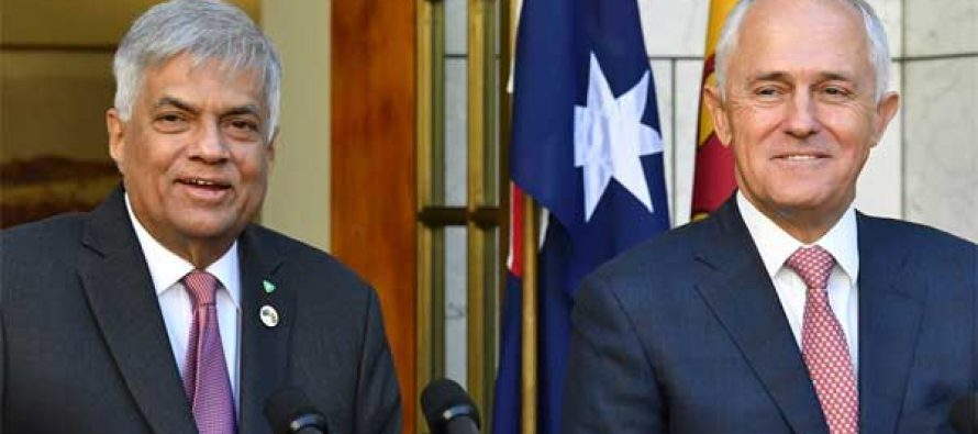 Australia, Sri Lanka discuss border protection, economy