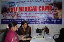 NHPC to organize Free Medical camp