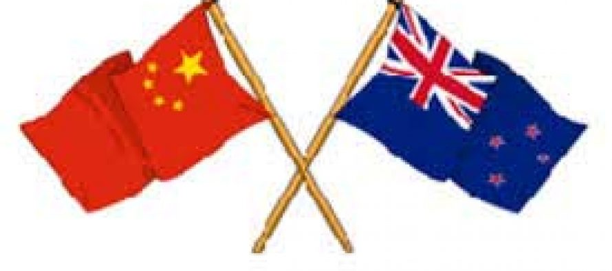 New Zealand, China meet to discuss climate change