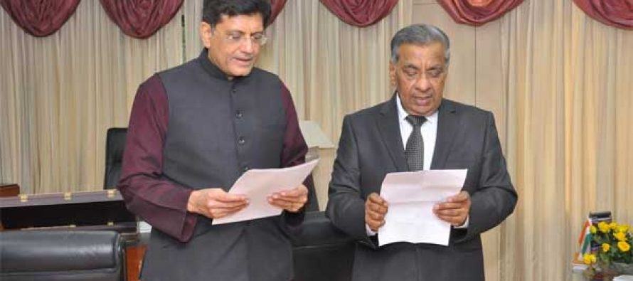 M.K. Goel appointed Chairperson, JERC for Goa & UTs