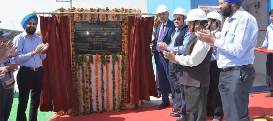 NTPC installs Robotic Dry Cleaning System for Solar PV Plant at NTPC Dadri